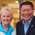 Newtown First Selectman Pat Llodra Endorses Tony Hwang for CT Senate
