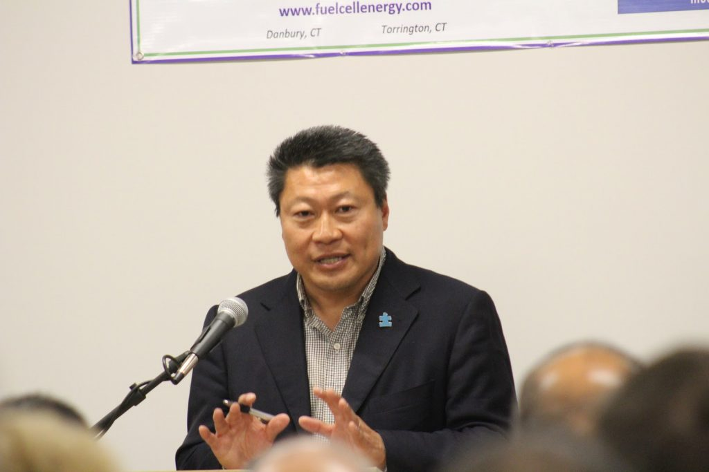 Senator Tony Hwang Enabled Connecticut based FuelCell Energy
