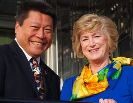 Former CT Governor M. Jodi Rell Endorses Tony Hwang for State Senate