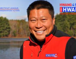 CT League of Conservation Voters Endorses Tony Hwang for Environmental Leadership