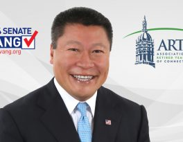 HWANG ACCEPTS ENDORSEMENT FROM CT RETIRED TEACHERS
