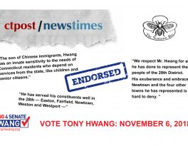 Endorsements: NewsTimes, CT Post, The Newtown Bee