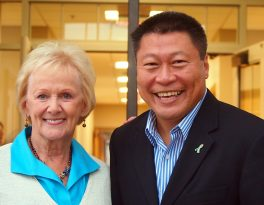 Endorsed by E. Patricia Llodra: A Strong And Persuasive Voice In Senator Hwang